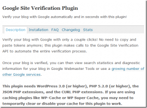 Google officially released a wordpress plugin for webmaster recently